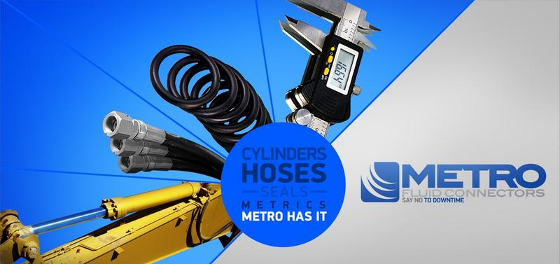 Metro Fluid Connectors - Hydraulic Hoses & Fittings